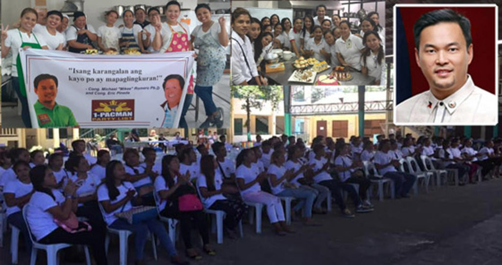 Cebuanos Got Job from Cong. Mikee Romero